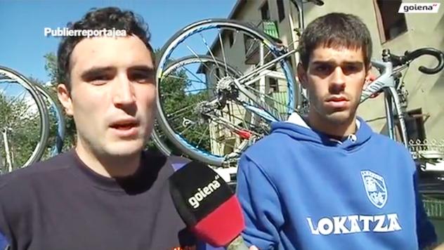 Lokatza Ziklismo Eskola es un referente que trabaja con cicclistas de Bergara y alrededores.